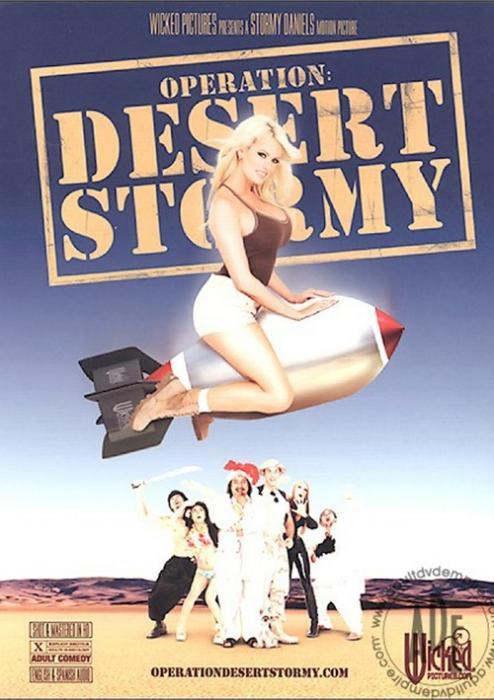 Operation: Desert Stormy Porn Parody