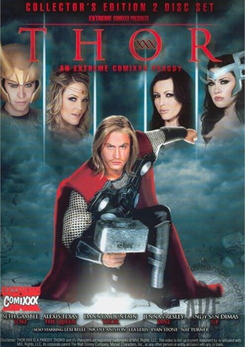 Thor XXX An Extreme Comixxx Parody